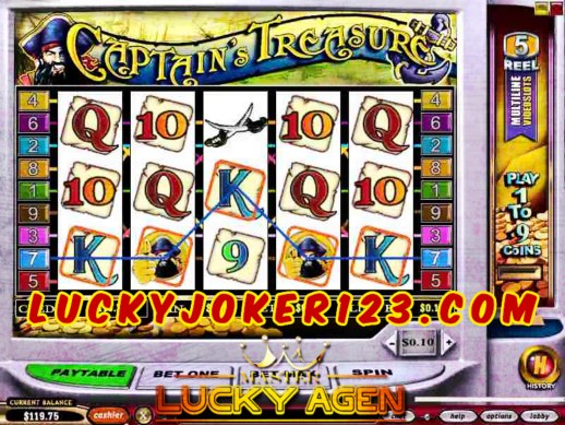 Game Judi Slot Captain Treasure Joker123